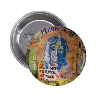 Graffiti - Prague Pinback Button