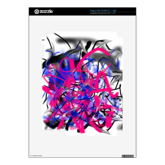 Graffiti Protector Skin For iPad 2