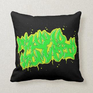 GRAFFITI psychosomatic mojo pollow Pillow