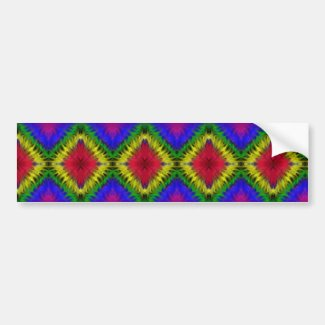 Graffiti Rainbow Bumper Sticker