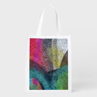 Graffiti Reusable, Bag Grocery Bag