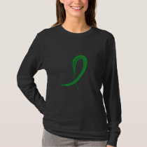 Graffiti Ribbon Traumatic Brain Injury TBI T-Shirt
