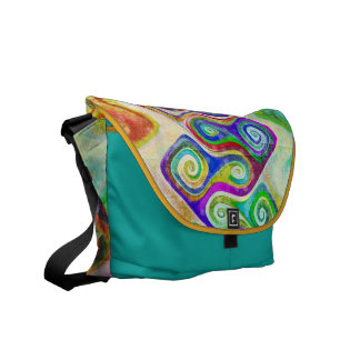 Graffiti Rickshaw Messenger Bag