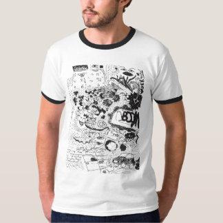 Graffiti Ringer T-Shirt