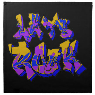 Graffiti Rock American MoJo Napkin