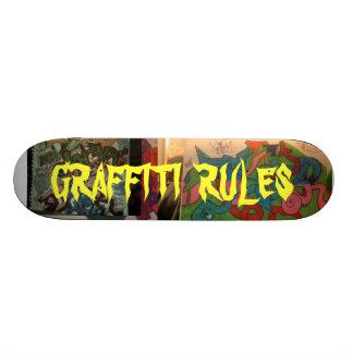 GRAFFITI  RULES SKATE BOARD