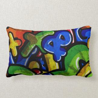 Graffiti Rumble Lumbar Pillow