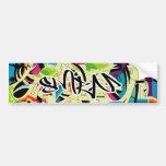 Graffiti Salad Car Bumper Sticker