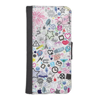 Graffiti School Fun Girls Wallet iphone 5s Case