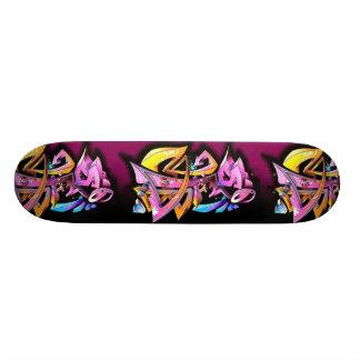 Graffiti Skate Deck