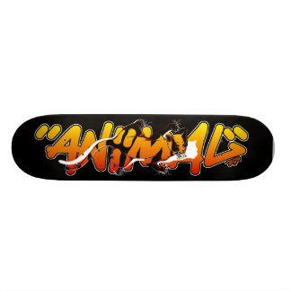 Graffiti Skateboard - Animal inside Skate Deck