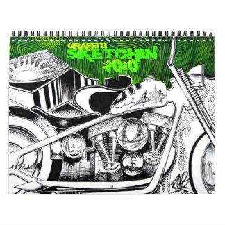 Graffiti Sketchin 2010 Calendar