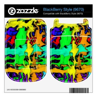 Graffiti Decal For The BlackBerry