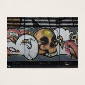 Graffiti Skull Business Card