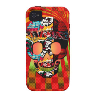 graffiti skull iPhone 4 covers