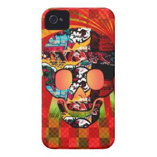 graffiti skull iPhone 4 case