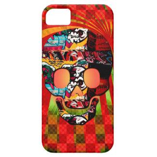 graffiti skull iPhone 5 cases