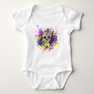 Graffiti Skull Infant Creeper