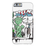 Graffiti statue of liberty barely there iPhone 6 case