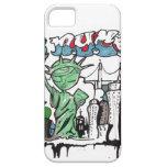 Graffiti statue of liberty iPhone 5 covers