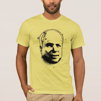 Graffiti Stencil John McCain t-shirt