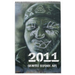 Graffiti Street Art Calendar 2011