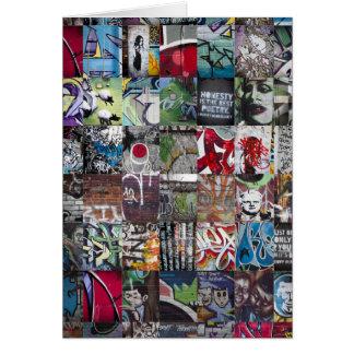Graffiti & Street Art Card
