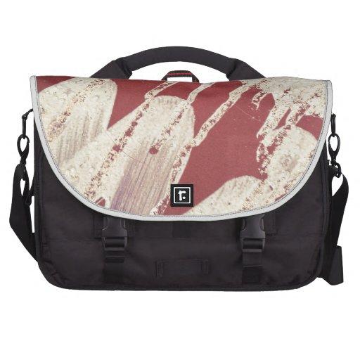 Graffiti Street Art Paint Red White Bag For Laptop