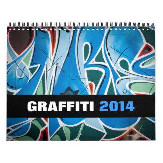 Graffiti & Street Art Photography 2014 Calendar