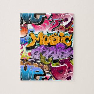 Graffiti Street Art Jigsaw Puzzles