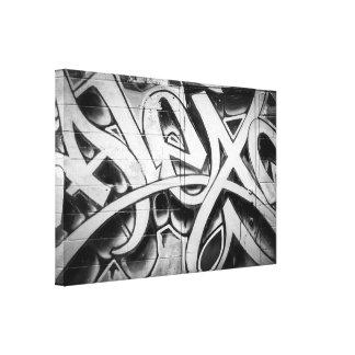 Graffiti (Street Art) Toronto Canvas Print