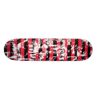 Graffiti Stripes Skateboard