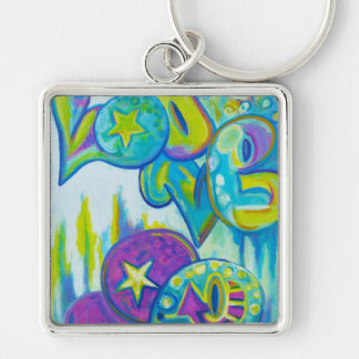 Graffiti Style Love, icases Key Chain