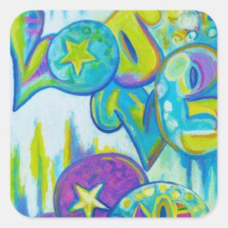 Graffiti Style Love, stickers