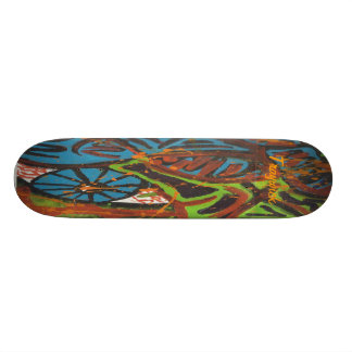 Graffiti Style Skateboard
