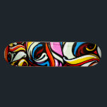 "Graffiti Style Skateboard<br><div class=""desc"">A skateboard designed in a graffiti style.</div>"
