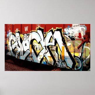 GRAFFITI TAGGING POSTER
