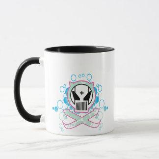Graffiti Tech Skull Mug