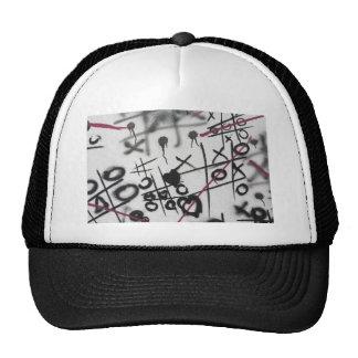 Graffiti Tic Tac Toe Hat