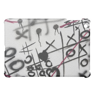 Graffiti Tic Tac Toe iPad Mini Covers