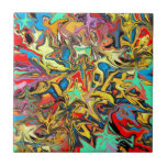"""Graffiti Tile<br><div class=""""desc"""">The street meets home decor in this digitally enhanced image of graffiti. Get hip to a new way of bring art into your home with this contemporary design. *note,  this pattern is not intended to have a matching repeat.</div>"""