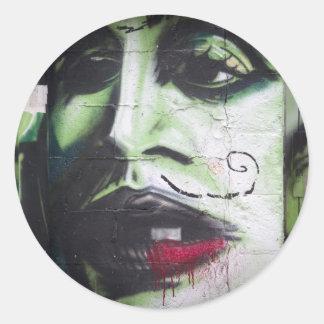 Graffiti-Toronto- Round Stickers