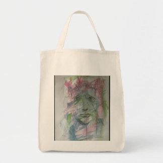 Graffiti tote canvas bag
