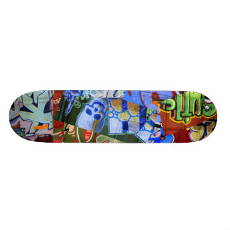 Graffiti Trains Skateboard Deck