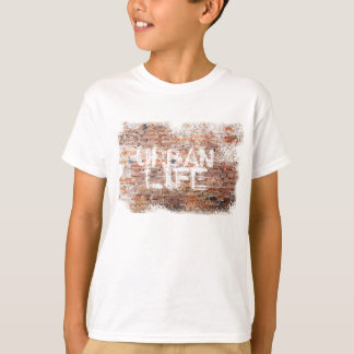Graffiti URBAN LIFE GRUNGE BRICKS T-Shirt