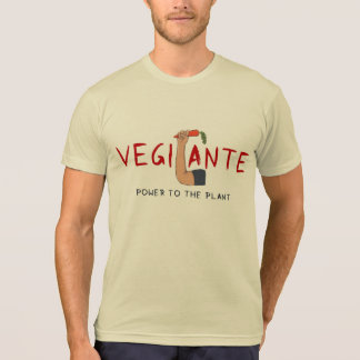 Graffiti Vegilante Vegetarian Pro-Veggie Shirt