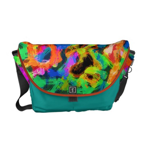 Graffiti Vibe Courier Bags