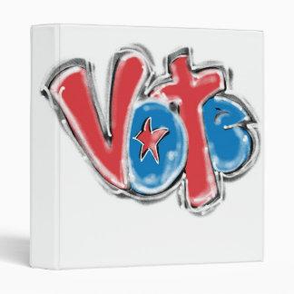 "Graffiti Vote 1"" Photo Album Binder"