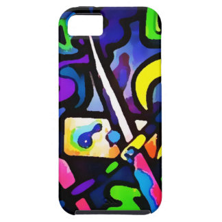 Graffiti, Wall art, Youth, Spray Paint, Colourful iPhone SE/5/5s Case