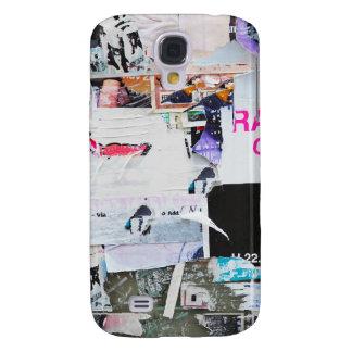 Graffiti Wall Banksy Style Torn Paper Galaxy S4 Case
